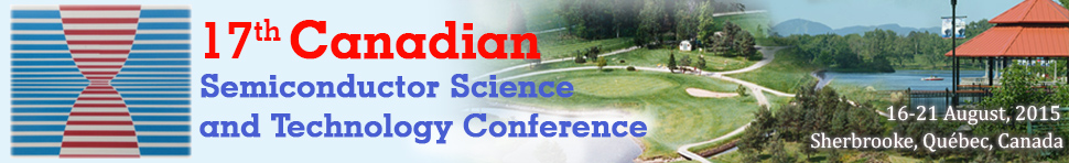 17th CSST Conference, Sherbrooke, August 2015